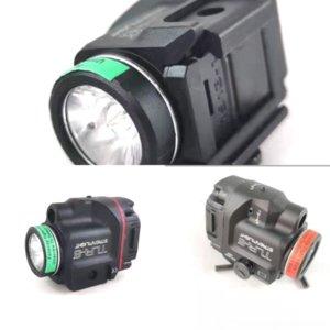 F4CFS Elemento Modelo C8 CREE XM L T6 FLAS tácticos de plomo para Tactical TLR-8 Luz LED Flash Luz Super Versión Linterna Táctica Brillante