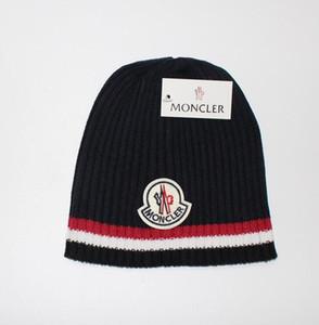 2019 mens designer hats bonnet winter beanie knitted wool hat plus velvet cap skullies Thicker mask Fringe beanies for men08