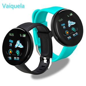 D18 Bluetooth Wristband Blood Pressure Heart Rate Measurement Sport Tracker Smart D13 Digital Watch For Men Women