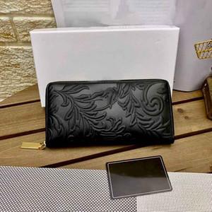Famous Stylist Men's Wallets 21SS Women Elegance Wallets Handbags Unisex New Designers trend Bags New Luxurys Classical Style Black Color