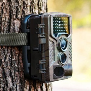 16mp HD Scouting Trail Camera Pir Motionggered Infra-Red Night Vision Sound Запись TFT Экран для фото Видеосъемка Снимок