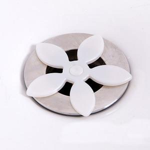 Abflussrohr Haarfänger Stopper Clog Blume Form Küche Badezimmer Waschbecken Badewanne Abwasserfilter Anti-blockierendes Werkzeug Haarentferner PPD3392