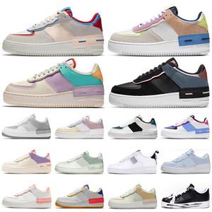 af1 force 1 Shadow forces one shoes zapatos la fuerza aérea blanco 1 para mujer para hombre formadores ourdoor plataforma deportes zapatillas de deporte