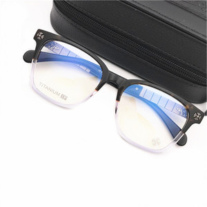 ماركة الرجال النظارات إطارات النساء الرجعية نظارات البصرية الإطار الرجال الأزياء إطار كبير إطارات النظارات قصر النظر النظارات مع القضية الأصلية