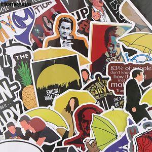 10sets / lot Homegaga 37pcs / Set Comment j'ai rencontré votre mère Scrapbooking Stickers Vélo Autocollant de voiture Autocollant Sticker Decal Bagage Logage Sticker D2616 Z1210