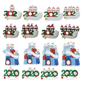 DHL Free Ship more popular personalized christmas ornaments 2020 quarantine ornaments christmas tree bettdecoration Delivery within 24 hours
