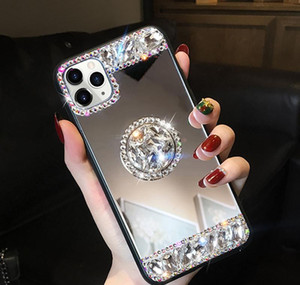 3D Acrylic SunJolly Mirror Mirror Diamond Case для iPhone 11 Pro Max XS MAX XR 8/7 PLUS 6 / 6S PLUS PLUS SE2020 Чехол для телефона BBYMTK Packing2010