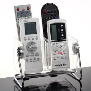 6 Grids Remote Control Holder Storage Box Acrylic Office Organizer Air Conditioner TV Remote Phone Makeup Brush Home Organizer Z1123