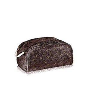 Homem designer de marca Mulher de admissão de homem cosmético ms. Para bolsa M47528 Woman Package bolsas de lona e lavagem para king size saco de higiene pessoal TRAVE EJLD