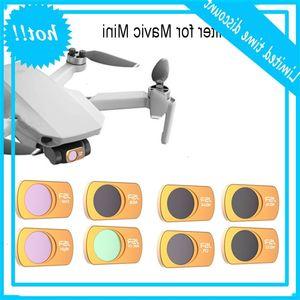 DroneLens Filter UV CPL ND Circular Neutral Density Set Professional Filters for DJI Mavic Mini Drone Accessories