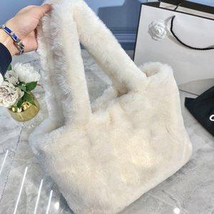 French Women Luxurys Designers Bags 2020 High Quality Rabbit Fur Crossbody Bag Cc Bag Free Shipping