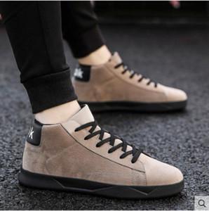 2021 الخريف والشتاء الجديدة الاتجاه القماش sch مسطح الأحذية الرياضية عارضة أحذية الرجال قماش