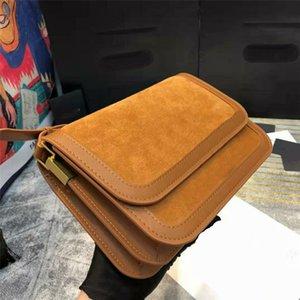 Обновлены новые аппаратные сумки замшевые сумки крест # 1 ремешок длинные золотые сумки на плечо дизайнеры пряжки crossbody baguette chisting кожаная критика люкс Ubba