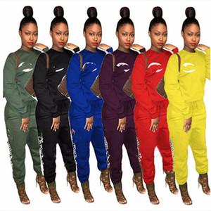 Champion Women designer 2 piece set fall winter clothes pullover sweatsuit sweatshirt pants outfits leggings sportswear fitness hotsell 0569