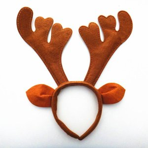 Hot Christmas Deer Reindeer Antlers Horn Headband Fantasy Costume Party