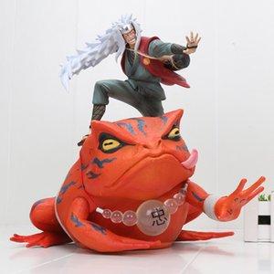Наруто Джирайя Гама Sennin Gama-Bunta Действие Фигурные игрушки Куклы Рождественский подарок Наруто Shippen PVC Figuine Brinquedos Y200421
