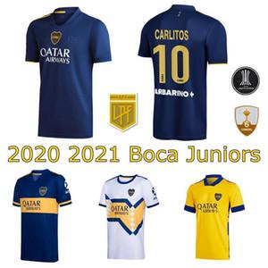 2020 2021 Boca Juniors جيرسي بيت 20 21 مورو zarate فيلا جيرزل كارليتوس تيفيز أبلا المردرا لكرة القدم قمصان