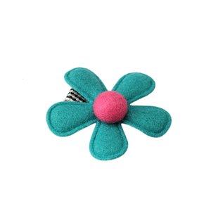 M Flower Mism Ornaments Novos Headwear Headwear Baby Hairpins Para Crianças Acessórios Barrettes Crianças Meninas Meninas Headdress Cabelo Clipk2sr
