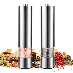 Stainless Steel Pepper Mill Grinder Salt & Pepper Mill Cutter Kitchen Seasoning Tools Accessories for Cooking Q1123 Q1124