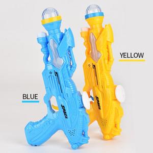 Hot sale new toy gun children flash music light disc space gun both boy and girl