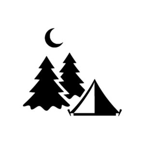 16*14.2cm Camping Vinyl Sticker Hiking Nature Travel Outdoors Climbing Car Styling Car Sticker