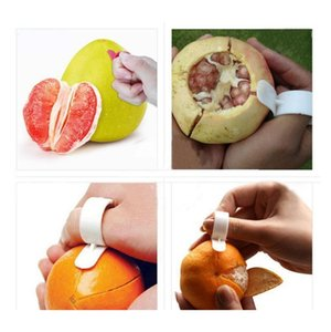 1pcs Kitchen Gadgets Cooking Tools Peeler Parer Finger Type Open Orange Peel Oran jlloHE sinabag