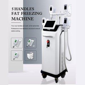 2020 Lipo Cryo Machine Cryolipolysis Fat Freezing Equipment Body Slimming 5 Handles Available 2 Years Warranty