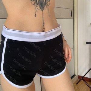 Pantaloncini Casual Ladies Beach Gym Gym Gym Shorts Hot Shorts Giovane ragazza Sport Letter Shorts QWE