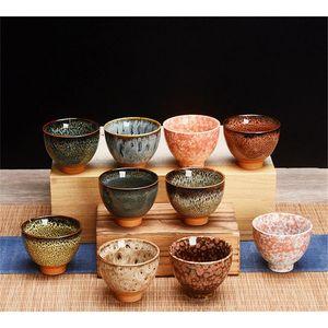 6pcs Ceramic Drinkware Teaware Chinese Kungfu Tea Set Teacup Sake Cups 50ml Master Cup Small Tea Bowls De sqcAvY