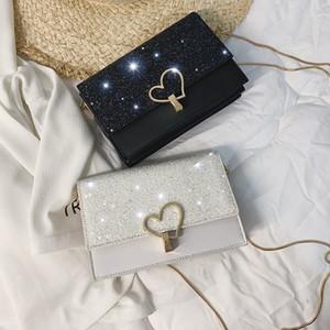 Women Mini Small Square Pack Shoulder Bag Fashion Sequin Designer Messenger Crossbody Bag Clutch Wallet Handbags