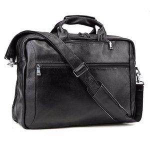 """حقيبة يد مزدمة خفيفة الوزن جلد طبيعي 17 """"كمبيوتر محمول طارد ماء رسول حقيبة الكتف متعددة الأغراض Daypack"""