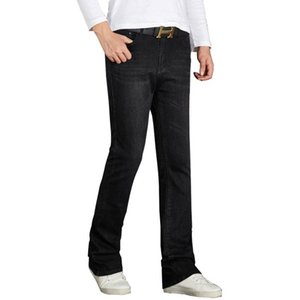 Jeans Classic Pants Trousers Boot Flare Stretch Fashion Mens Slim Cut Size 26-34