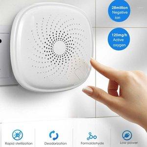 Purificadores de aire Generador de ozono, desinfectante del purificador con función de tiempo 2800W Ionizer para el hogar PET CAR PLUGO EUR1