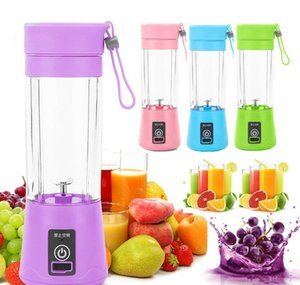 Portable Usb Electric Fruit Juicer Handheld Vegetable Juice Maker Blender Rechargeable Mini Juice Making Cup With Cha bbyinB warmslove