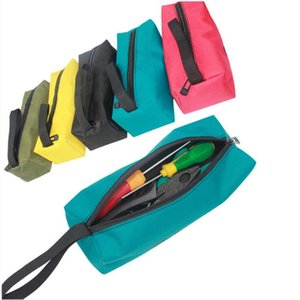 Multi-purpose Zipper Tool Cosmetic Bag Pouch Organize Storage Small Parts Hand Tool Plumber Electrician