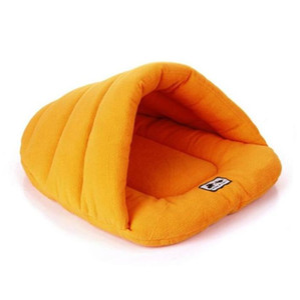 الحيوانات الأليفة كيس النوم لينة القطبية الصوف حصيرة المحمولة خفيفة كومة الحيوانات الأليفة جرو كهف السرير الشتاء الدافئ HHE3715