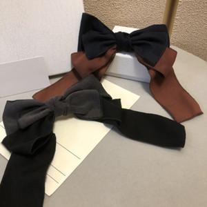 New Fashion Bow Hair Clip per donna progettata in cashmere autunno e inverno clip per capelli di alta qualità stile versatile