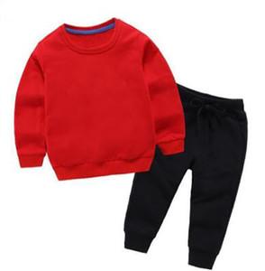 2019 marque vêtements pour enfants garçon à manches longues neuves bébé bébé bodfe201 vapeurs de deux pièces 2-9 ans marée printemps costumes oirer256