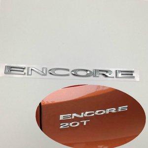 240 * 15 mm UNTUK Buick Encore Belakang Tailgate emblema logotipo Huruf Papan Nama Stiker Mobil