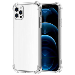 phone case Transparent soft shell is suitable for iPhone 12 couple fall protection shell