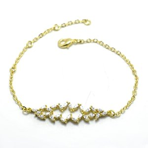 Stylish Crystal Beads Bracelet Bangles For Women Men Boho Jewelry Best Friend Gifts Charm Gold Link Chain Gift Jewelry sqciqg