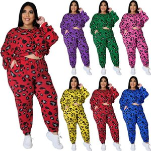hot selling Plus size tracksuit outfits long sleeve 2 piece set jogger sportsuit shirt leggings outfits sweatshirt pants sport suit