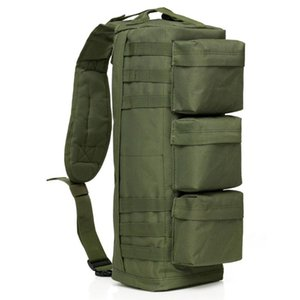 Tactical Backpack Army Molle Shoulder Camo Sling Bag Hunting Outdoor Men Camping Hiking Rucksack Assault Waterproof Eiska