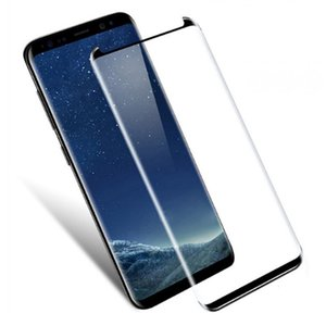 5D شاشة منحنية كاملة S10 ملاحظة 10 S20 زائد حالة الزجاج المقسى ودية لسان ستار S9 حامي فيلم