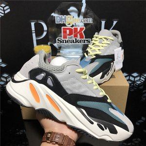 2020 Wave Runner 700 Blush Desert Rat Sal 700v2 Blanco Blanco Zapatillas de correr Kanye West Hombres Mujeres Entrenadores Sneaker Atlético Sports Shoes 36-45