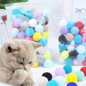 30 70 Pcs lot Multicolored Elastic Plush Balls Pet Durable Bite Resistant Molar Teeth Cleaning Toy For Dogs And Cats