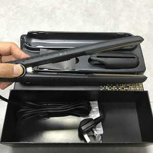 Famous V Gold Max Hair Straightener Classic Professional styler Fast Hair Straighteners Iron Hair Styling tool flat iron