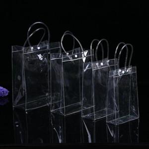 NEW Arrival Luxury Design Women Fashion PVC Transparent Shoulder Handbags Clear Tote Bags Cosmetic Storage Bags Travel Beach Bag