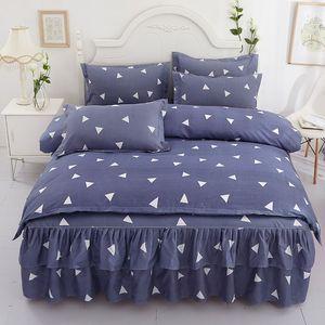 designer bed comforters sets Print Cotton Bedding Set Designer 1*Bed Sheet Fashion Cotton Cover Pillow Cases Classic Soft Duvet Cover 165 G2