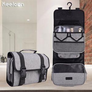 55*24.5*5cm Travel Cosmetic Make Up Bag Makeup Organizer Waterproof Big Bag Makeup Woman Kit New